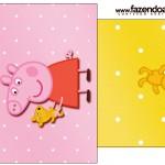 Saquinho de Chá Peppa Pig e TeddySaquinho de Chá Peppa Pig e Teddy