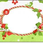 Squezze Fundo Natal Verde e Branco