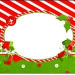 Squezze Fundo Natal Vermelho e Verde