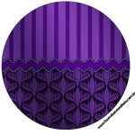 Toppers Fundo Roxo