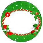 Tubetes,Latinhas e Toppers Fundo Natal Vermelho e Verde