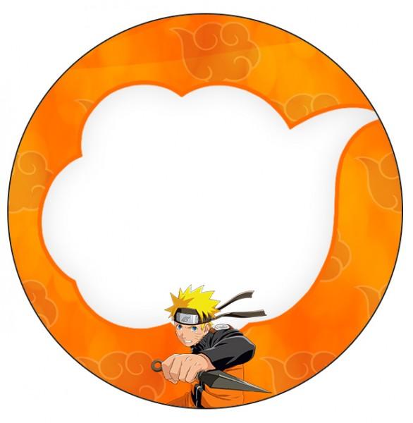 Tubetes,Latinhas e Toppers Naruto