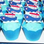 Cupcakes Festa Ursinho Marinheiro do Isaac