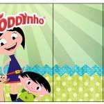 rótulo Toddynho Show da Luna para Meninos