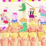 Copinhos com doces Festa Peppa Pig Princesa