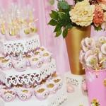 Cupcakes Festa Princesa 1º Ano da Maria