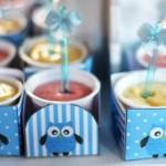 Chá de Bebê Corujinha Azul