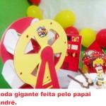 Roda Gigante Festa Bombeiro do Lucas