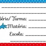 Etiqueta Escolar para Imprimir Galinha Pintadinha