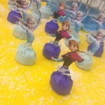 Lembrancinha Festa Frozen da Maria Luiza