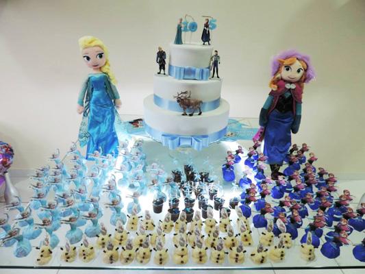 Festa Frozen da Isabella e Giovanna