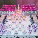 Caixa Pirâmide Festa Fazendinha Menina Rosa