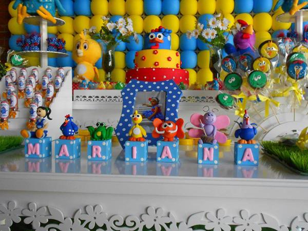 Festa Galinha Pintadinha da Mariana