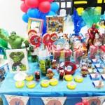 Latinhas Festa Esquadrão de Heróis