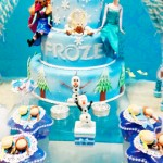 Bolo Festa Frozen da Sophia