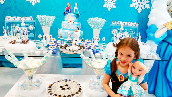 Festa Frozen da Sophia