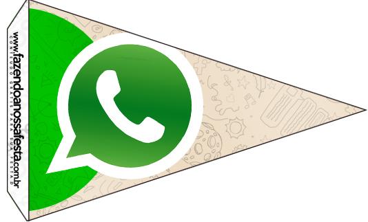 Bandeirinha Sanduiche 2 Whatsapp