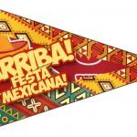 Bandeirinha Sanduiche 3 Festa Mexicana
