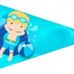 Bandeirinha Sanduiche 3 Pool Party