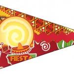 Bandeirinha Sanduiche 5 Festa Mexicana