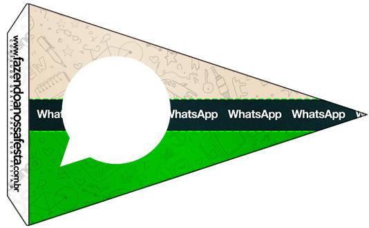 Bandeirinha Sanduiche 5 Whatsapp