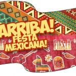 Bandeirinha Sanduiche Festa Mexicana
