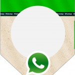 Bandeirinha Sanduiche Whatsapp