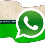 Bandeirinha Sanduiche Whatsapp 2