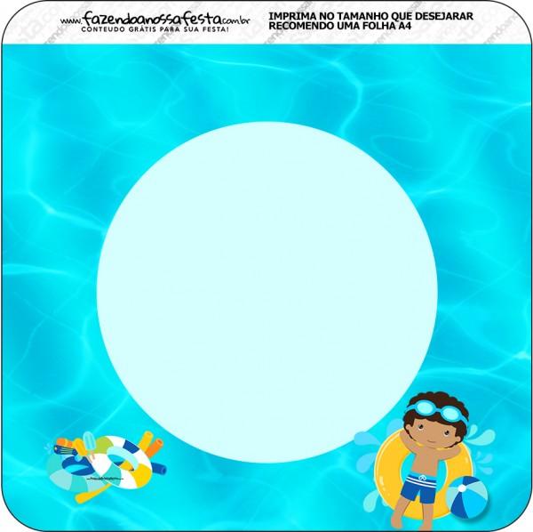 Bandeirinha Varalzinho Pool Party Menino Moreno 2