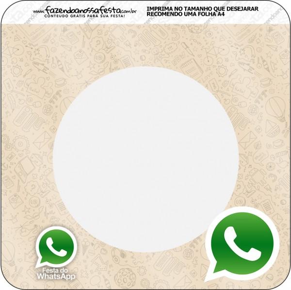 Banderinha Whatsapp