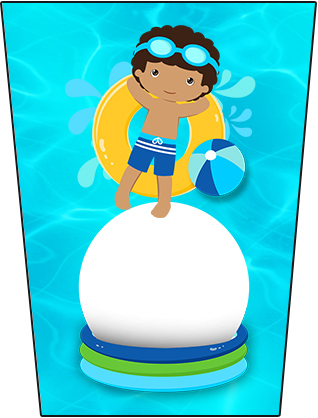 Bisanga Brigadeiro Pool Party Menino Moreno