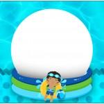 Bolinha de Sabão Pool Party Menino Moreno