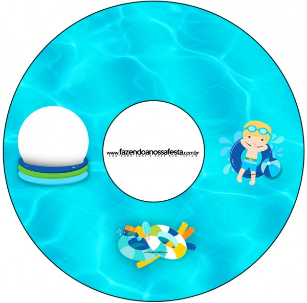 CD DVD Pool Party