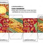 Caixa Bis Festa Mexicana