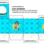Caixa Bis Pool Party Menino Moreno
