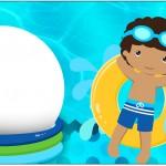 Caixa Bombom Pool Party Menino Moreno 2