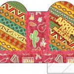 Caixa Coração Festa Mexicana
