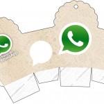Caixa Cupcake Whatsapp