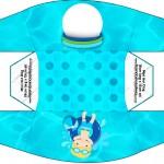 Caixa Mini Cachorro-quente Pool Party
