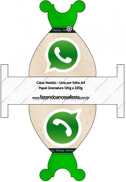 Caixa Vestido Whatsapp
