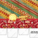 Caixa de Leite Festa Mexicana