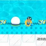 Caixa de Leite Pool Party Menino Moreno