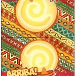 Cartão Agradecimento de Mesa Festa Mexicana