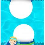 Cartão Agradecimento de Mesa Pool Party