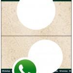 Cartão Agradecimento de Mesa Whatsapp