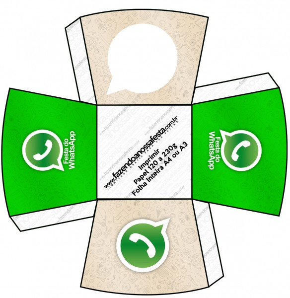 Chachepô de Mesa Whatsapp