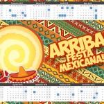 Convite Calendário 2015 Festa Mexicana