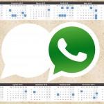 Convite Calendário 2015 Whatsapp