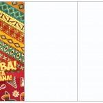 Convite, Cardápio ou Cronograma em Z Festa Mexicana