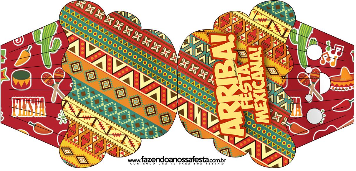 Convite Cupcake Festa Mexicana - Fazendo a Nossa Festa db1ca6413a5